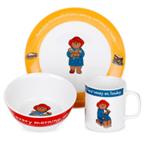 Paddington Bear - Three Piece Set & Money Box