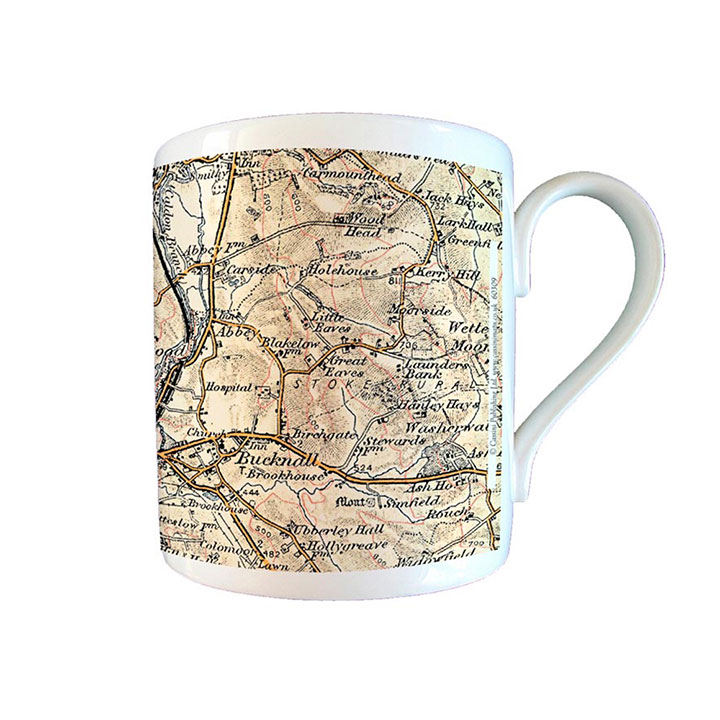 Map Mug - 1896-1904 Revised