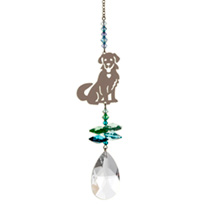 Crystal Hanger - Puppy