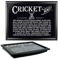 Laptray - Cricket