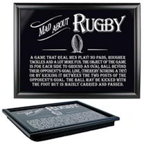 Laptray - Rugby