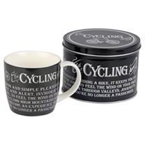Mug in a Tin - Cycling