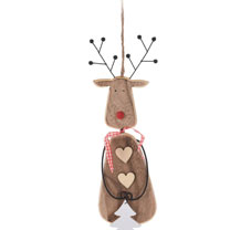 Retro Tree Decoration - Reindeer