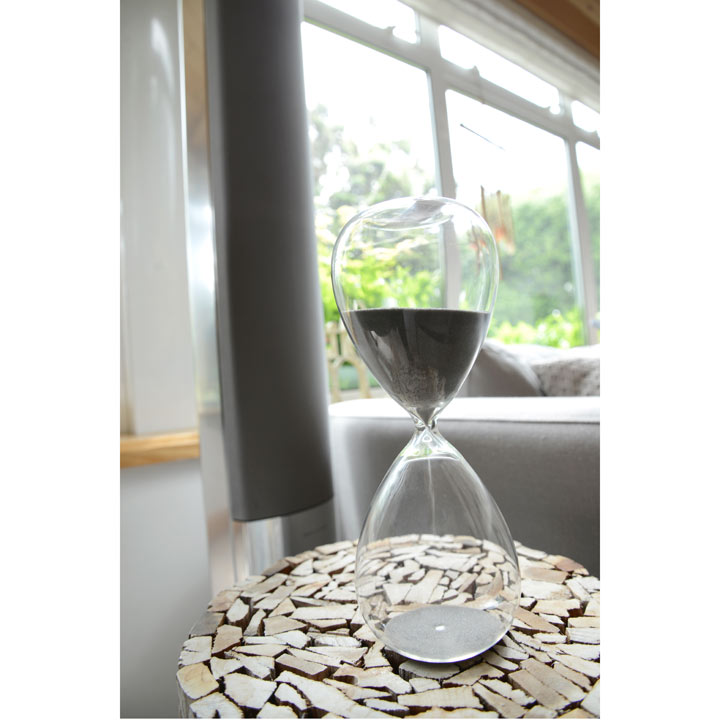 Hourglass - White