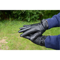 Boxed Leather Gloves
