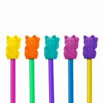 Lucky Cat - Pen Pot & Eraser Toppers