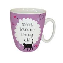 Loves Cat Mug