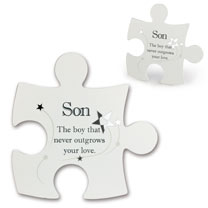 Jigsaw Photo Frame - Son