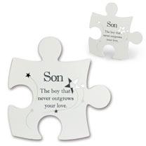 Jigsaw Photo Frame - Son