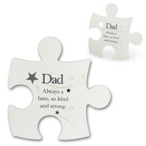 Jigsaw Photo Frame - Dad