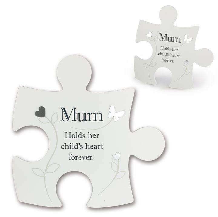 Jigsaw Photo Frame - Mum
