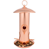 Copper Feeder - Seed Feeder