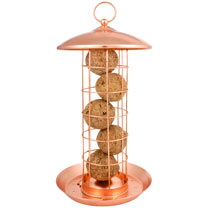 Copper Feeder - Suet Feeder