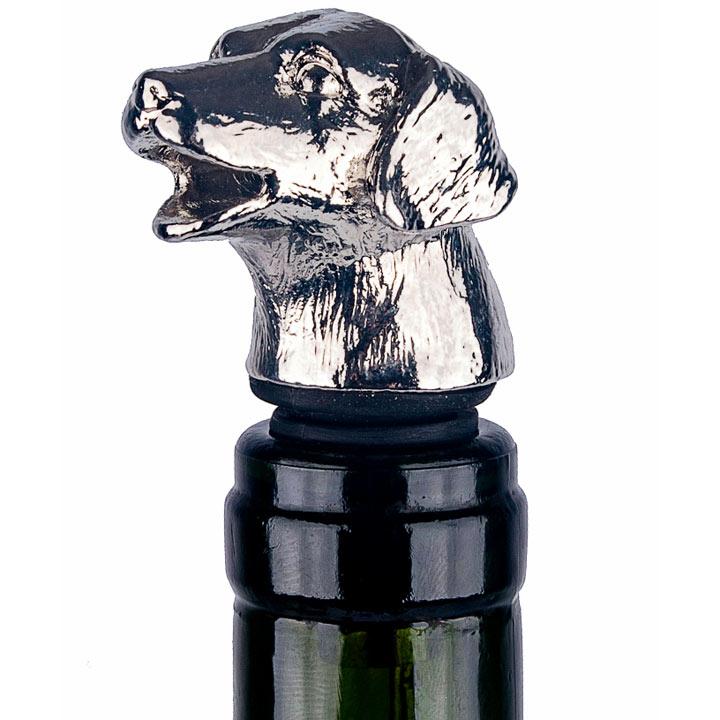 Dog Bottle Stopper & Pourer