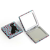 Dog Compact Mirror