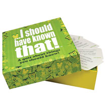 I Should Have Known That! Quiz Game