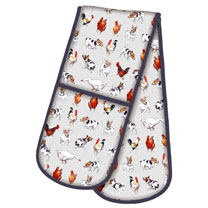 Farmyard Frolics - Double Oven Glove