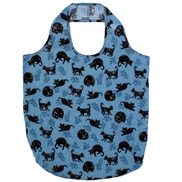 Packable Bag - Black Cat