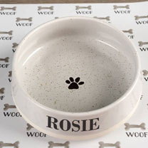 Personalised Pet Bowl - Large