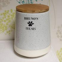 Personalised Treats Jar