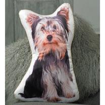 Dog Cushion - Yorkshire Terrier 52 x 33cm
