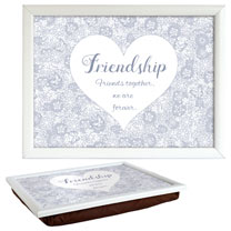 Sentiment Lap Tray - Friendship