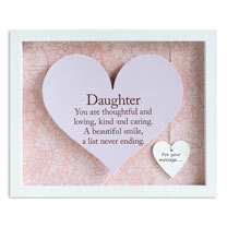 Sentiment Heart Frame - Daughter
