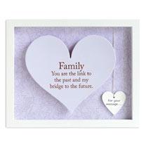 Sentiment Heart Frame - Family