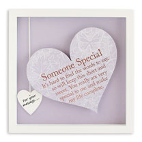 Sentiment Heart Frame - Someone Special