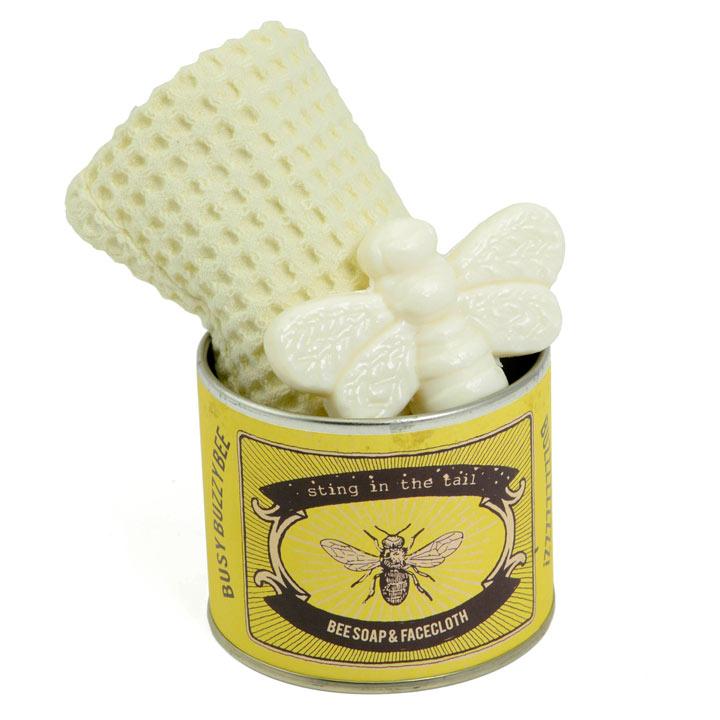 Bee Soap Tin