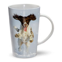 Dashing Dog Mug & Spoon