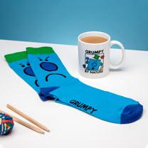 Mr Grumpy Mug & Socks