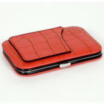 Red Wallet Organiser