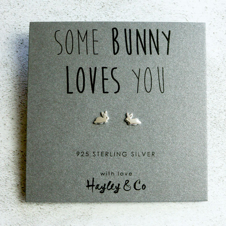 Some Bunny Loves You Earrings