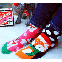 Ladies Christmas Oddsocks
