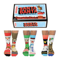Gents Christmas Oddsocks