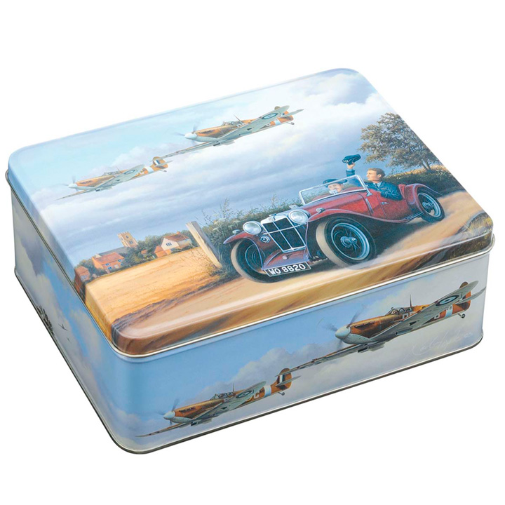 Shoe Polish Tin & Spitfire Tin
