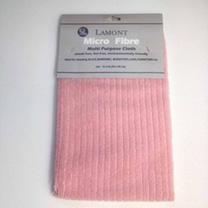 Pink Microfibre Cloth