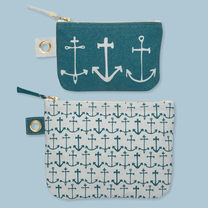 Seven Seas Zipper Pouches