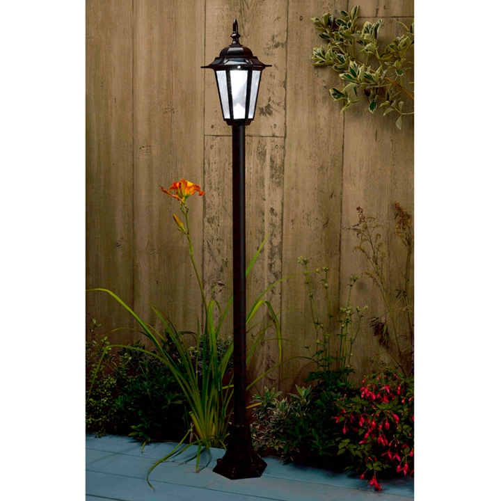 Solar Post Light