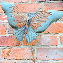 Wall Decoration - Butterfly and Dragonfly