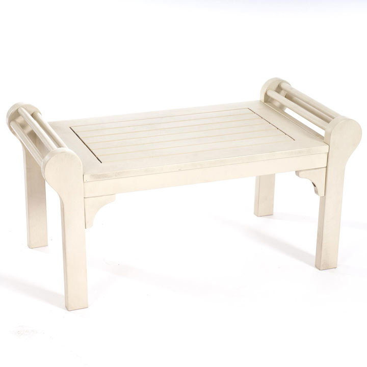 Lutyens Low Level Table - White