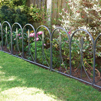 Regency Style Wire Fence Panels