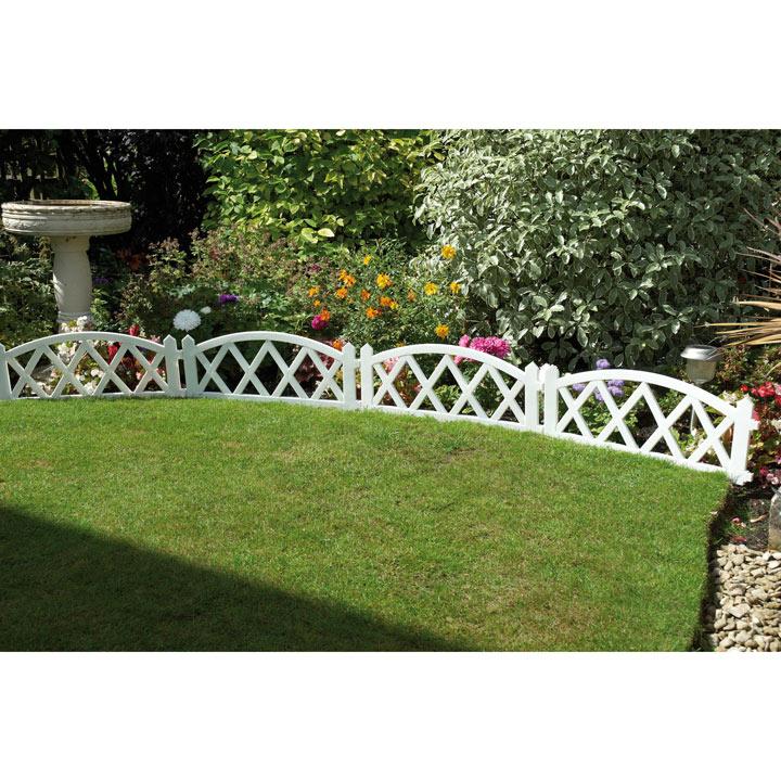 White Fence Panels