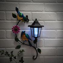 Solar Bird Wall Plaque