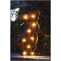 Solar Powered Lights - Rabbit