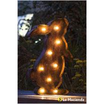 Solar Powered Lights - Rabbit
