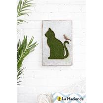 Flocked Wall Art - Cat