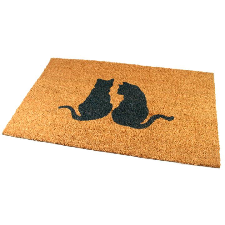 Cat Duo Doormat