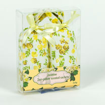 Rose & Jasmine Fabric Sachets
